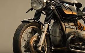 Moto Custom BMW R75/6 Cafe Racer
