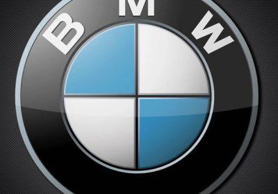 Emblema BMW de aluminio