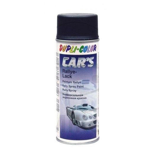 Spray de pintura moto coche negro satinado tienda - Pintura en spray para coches ...