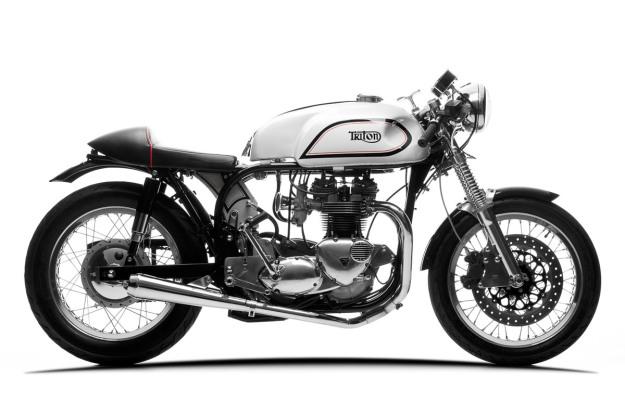 Moto Triton Cafe racer