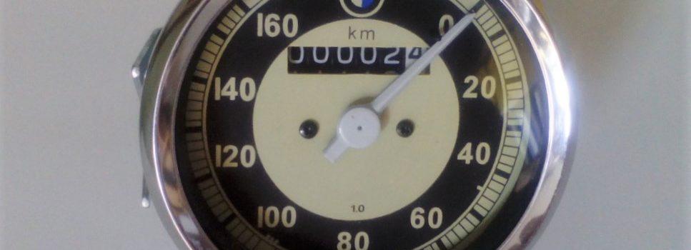 Velocímetro mecánico BMW 160km