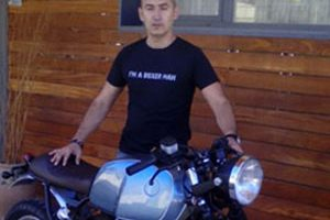 Moto R100R Entrevista a BoxerClassicas